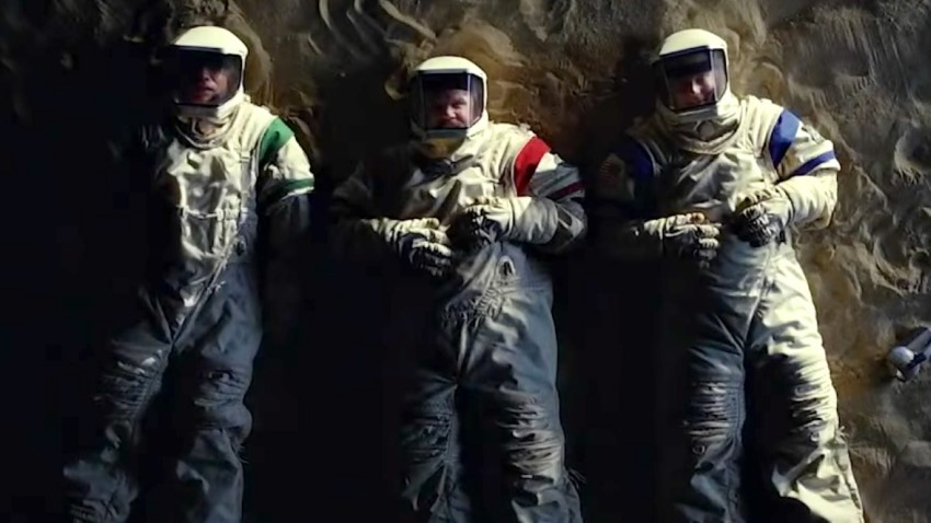 Reach for your dreams with Showtime's comedy series Moonbase 8 2