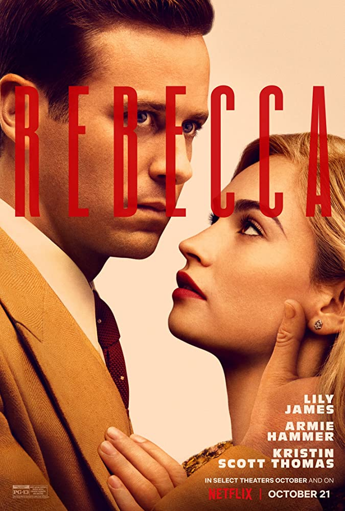 Romance, drama, and mystery underpin Netflix's psychological thriller Rebecca 4