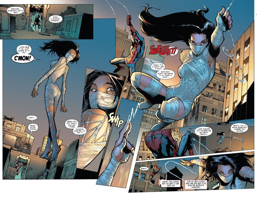 Sony developing several Marvel TV shows starting with Silk 6