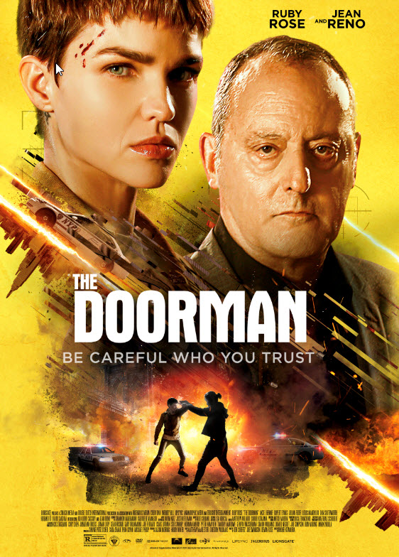 There's more than meets the eye to Ruby Rose in the action thriller The Doorman 4