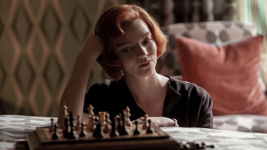 Tread the line between genius and insanity in Netflix's limited series The Queen's Gambit 2