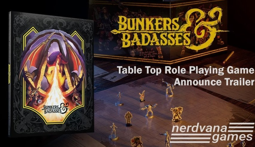 Borderlands' fictional tabletop RPG, Bunkers and Badasses, will soon be a real thing 1