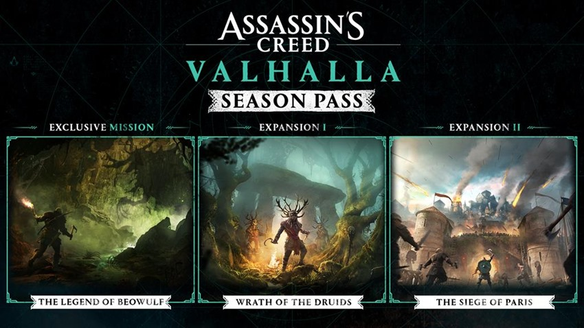 Assassin's Creed Valhalla post-launch content includes druids and a raid on the French - Critical Hit