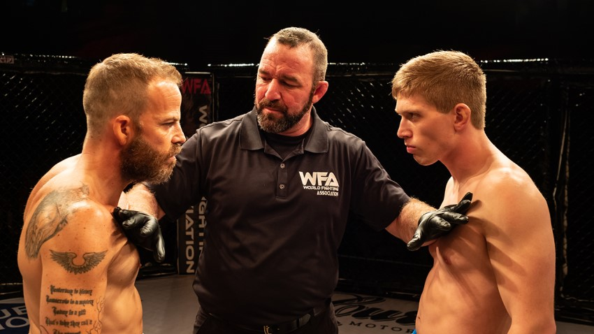 Father and son clash in the MMA drama Embattled 2
