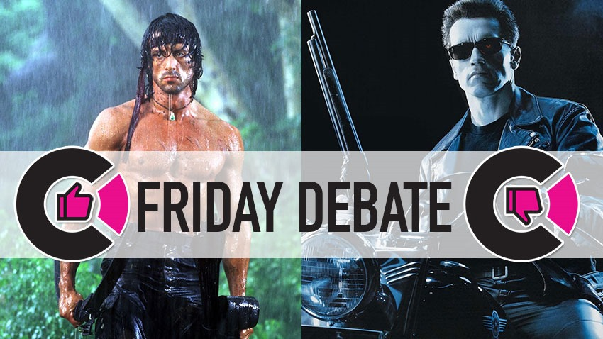Friday Debate: Who was the greatest action star of the 1980s and 90s, Stallone or Schwarzenegger? 4