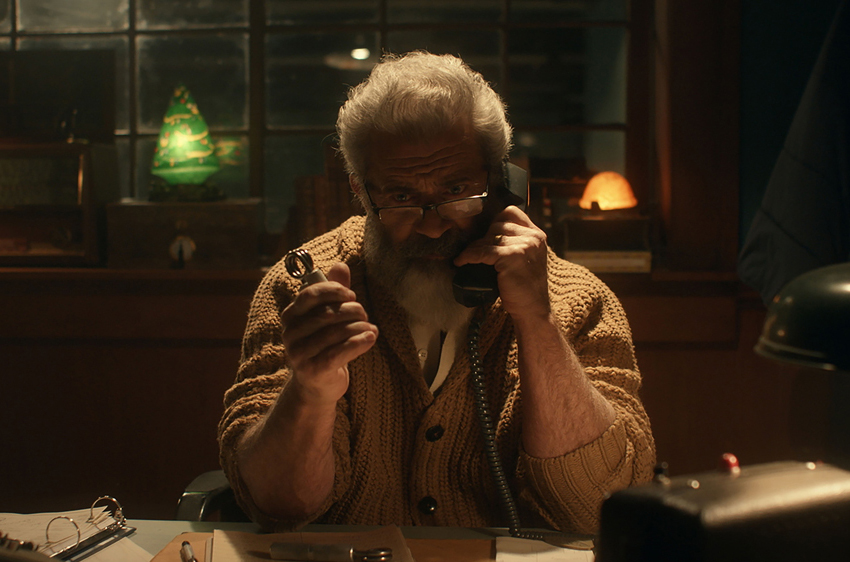 'Fatman' trailer: Mel Gibson's powerful dialogues
