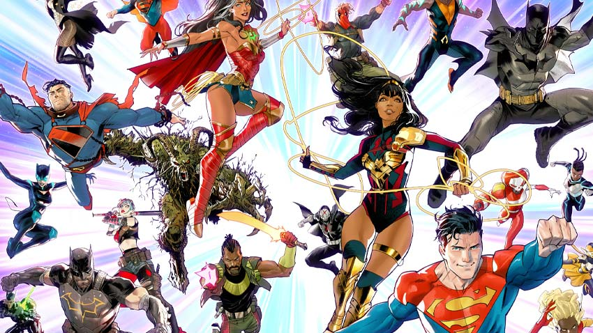 DC's Future State event is looking into the next era of Batman, Superman, and Wonder Woman 3