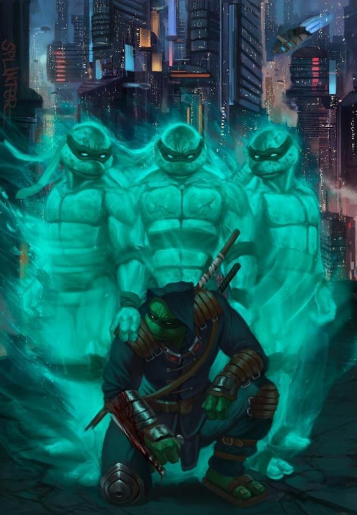 TMNT: The Last Ronin is an R-rated Teenage Mutant Ninja Turtles saga 6