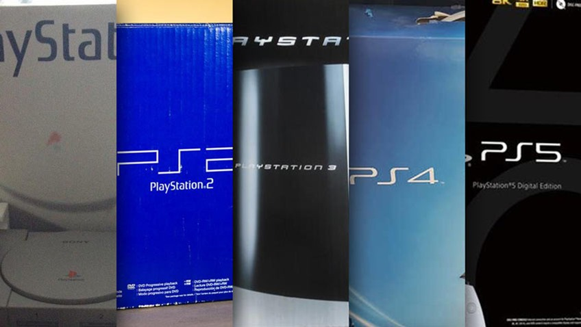 PlayStation console boxes ranked - Critical Hit