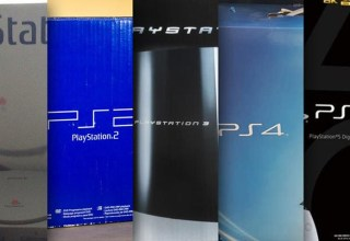 PlayStation console boxes ranked 45
