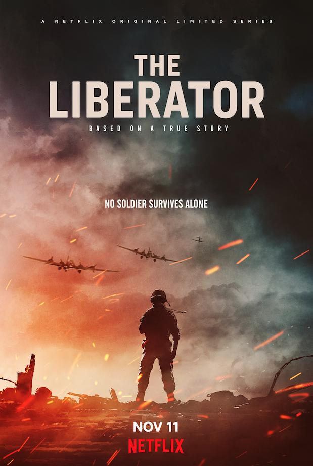 Courage is a decision in Netflix's animated WWII drama miniseries The Liberator 4