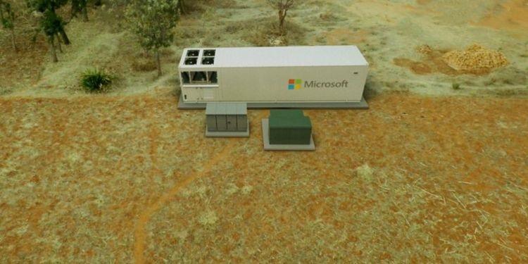 Microsoft has created a portable Azure datacentre 3