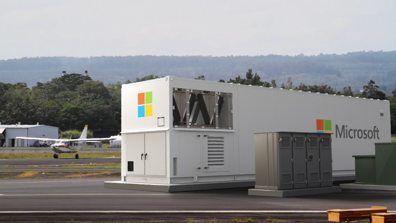 Microsoft has created a portable Azure datacentre 4