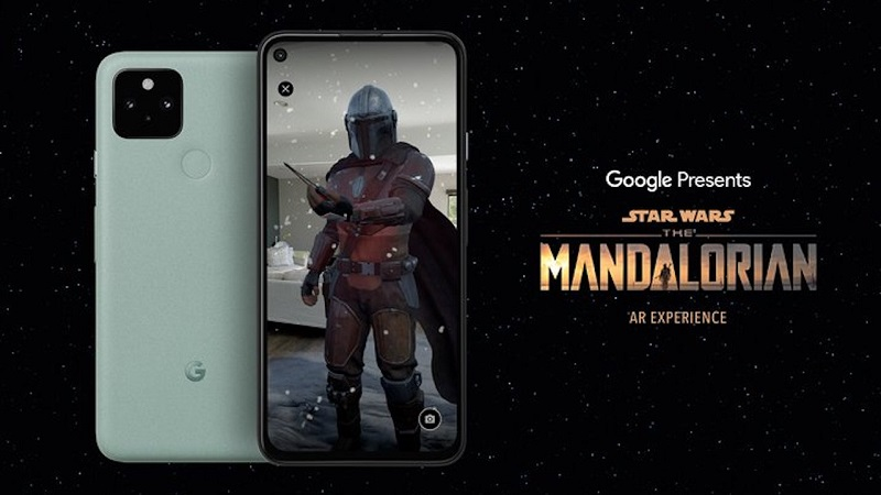 The Mandalorian AR Experience brings Baby Yoda into the world around you