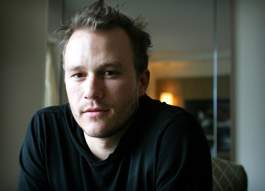 Heath Ledger was going to direct The Queen's Gambit as a feature film before his death 5