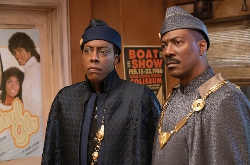 Coming 2 America: Eddie Murphy is back in first images from long-awaited sequel 10