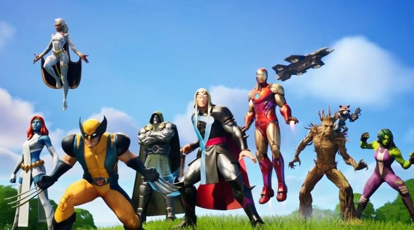 Fortnite-Chapter-2-Season-4-Marvel-heroes