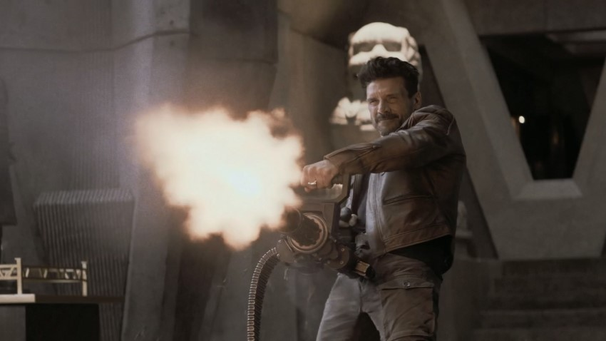 Frank Grillo must figure out how to stay alive in Hulu's sci-fi action comedy Boss Level 2