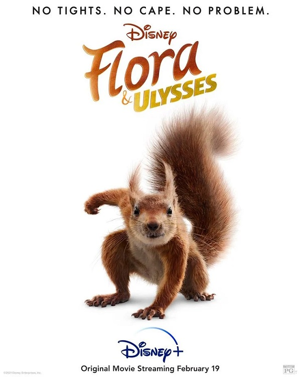 A girl finds a squirrel with superpowers in this trailer for Flora & Ulysses 4