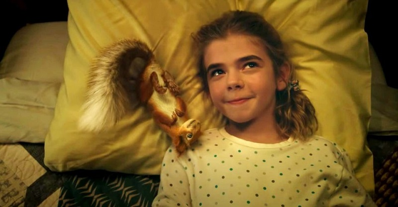 A girl finds a squirrel with superpowers in this trailer for Flora & Ulysses 3
