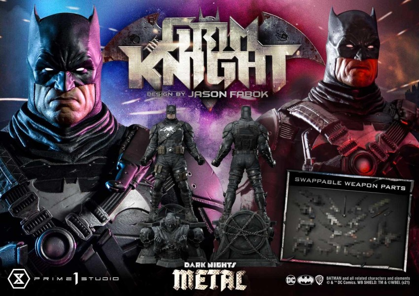 The Grim Knight Batman who really loves guns is getting an amazing $1300 statue collectible 37