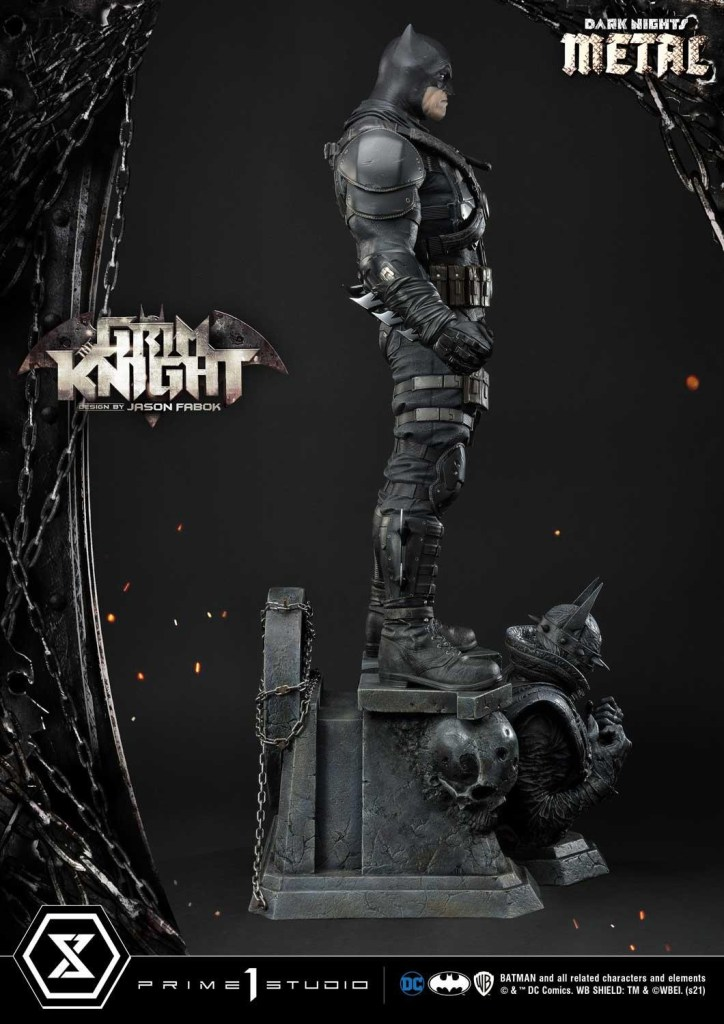 The Grim Knight Batman who really loves guns is getting an amazing $1300 statue collectible 30