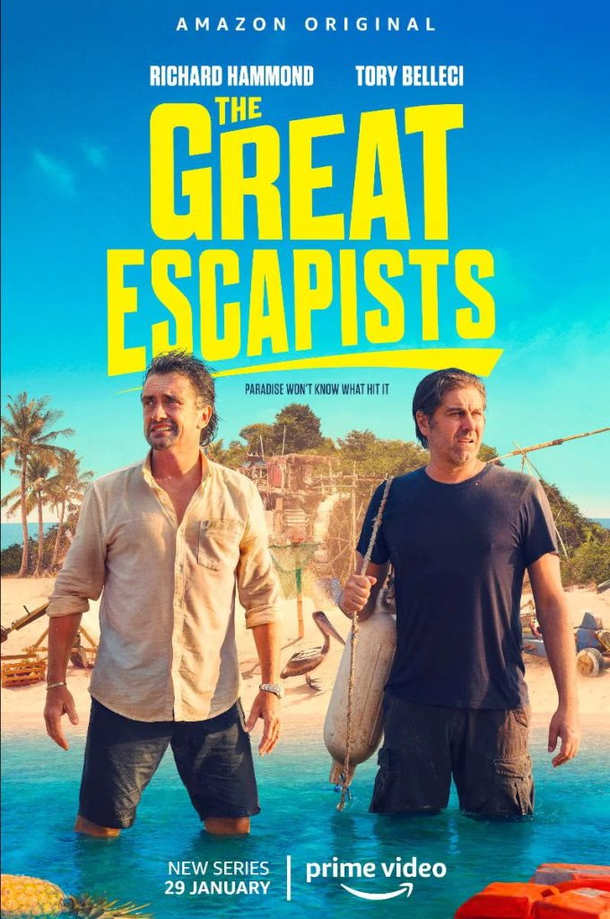 The Great Escapists - Richard Hammond and Tory Belleci team up and make explosive weapons. What could go wrong? 3