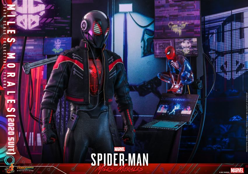 Hot Toys Daft Punk Spider-Man is packing webs and LEDs 38