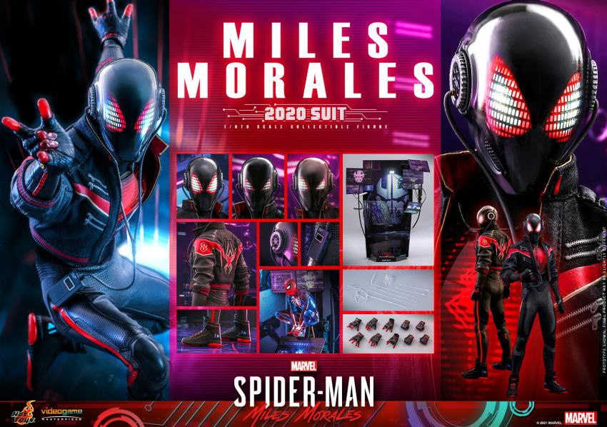 Hot Toys Daft Punk Spider-Man is packing webs and LEDs 44