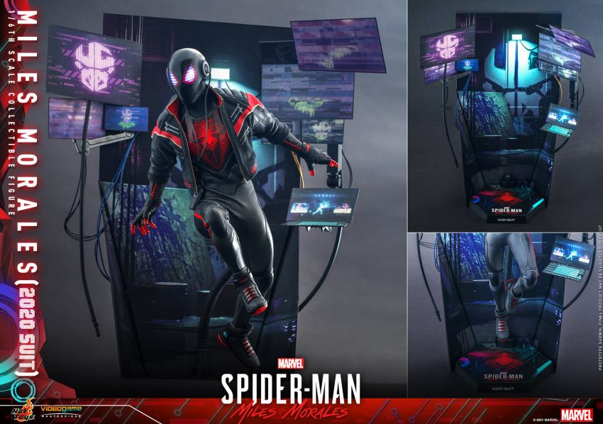Hot Toys Daft Punk Spider-Man is packing webs and LEDs 25