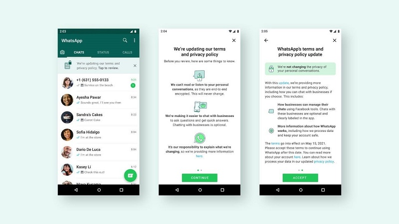 WhatsApp to start rolling out updated privacy policy 4