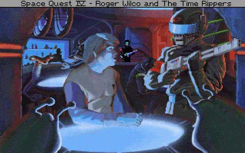Space Quest IV introduced quality cartoon graphics to the series.