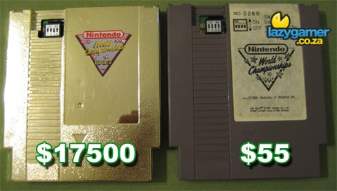 Insanely expensive Gold Cartridge
