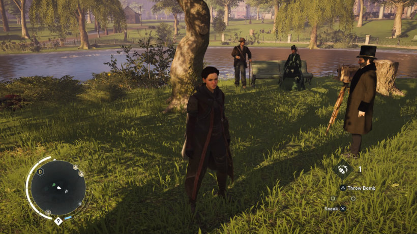 Assassin s creed syndicate photography in the park
