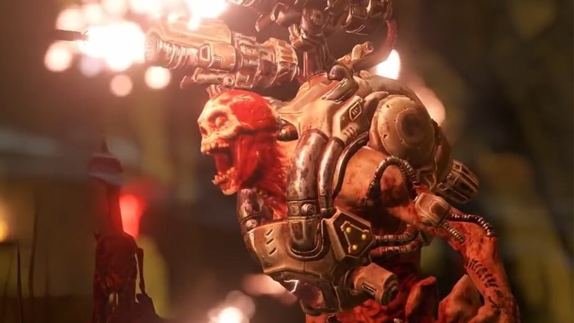 DOOM multiplayer footage doesn't disappoint