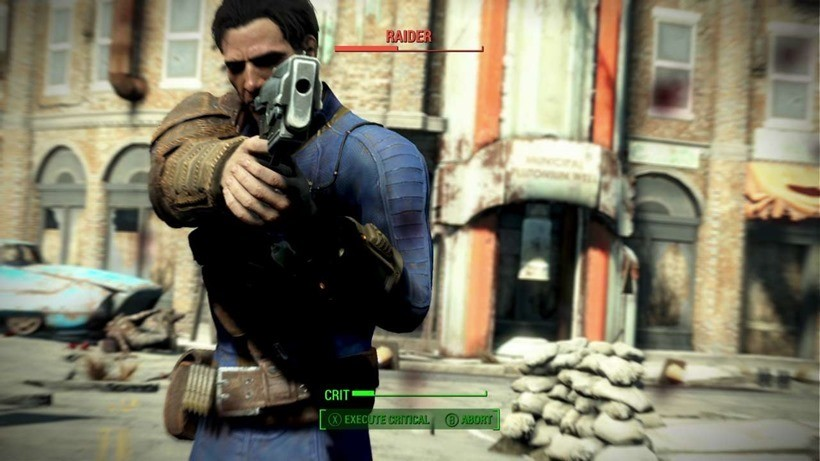 Fallout 4 gameplay leaked