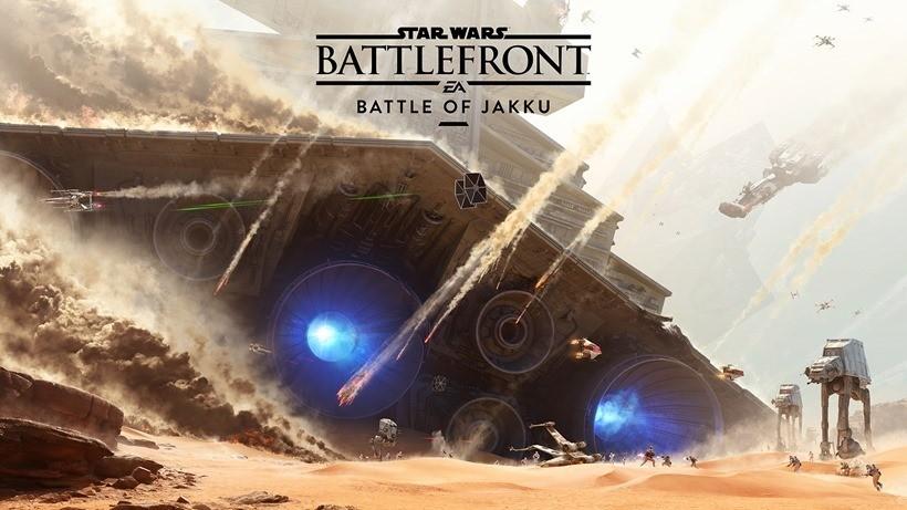 Battle of Jakku Battlefront teaser