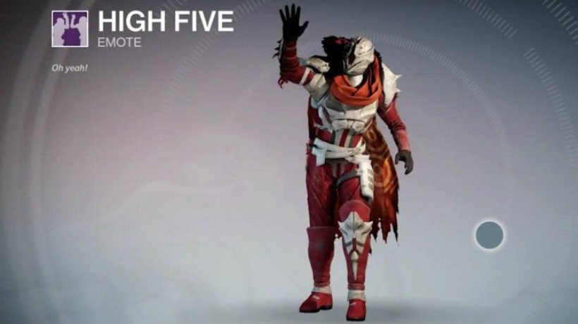 High five destiny