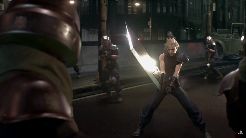 Final Fantasy VII is also being split up