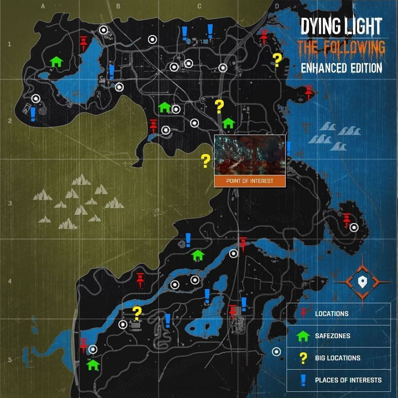 The Following Map
