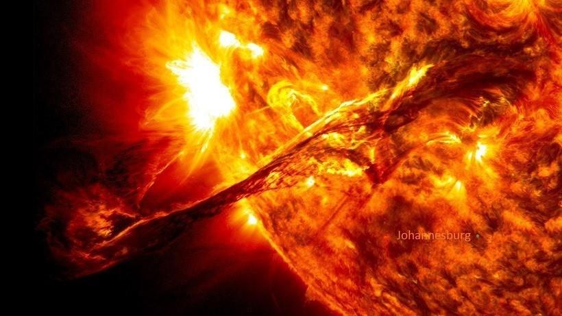 The sun... AAAAH MY EYES