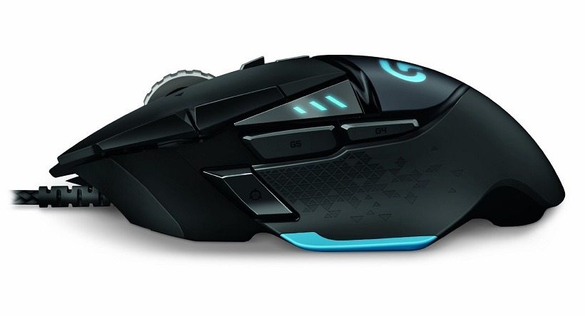Logitech G502 Proteus Spectrum Gaming Mouse 3