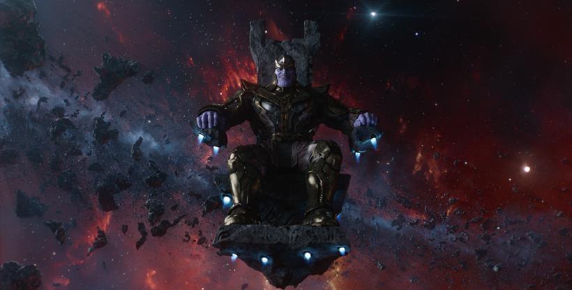 Marvel's Guardians Of The Galaxy Thanos (voiced by Josh Brolin) Ph: Film Frame ©Marvel 2014