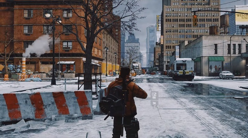 The Division and weather systems