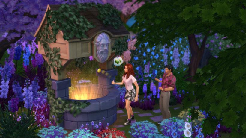 Sims 4 romantic garden 2