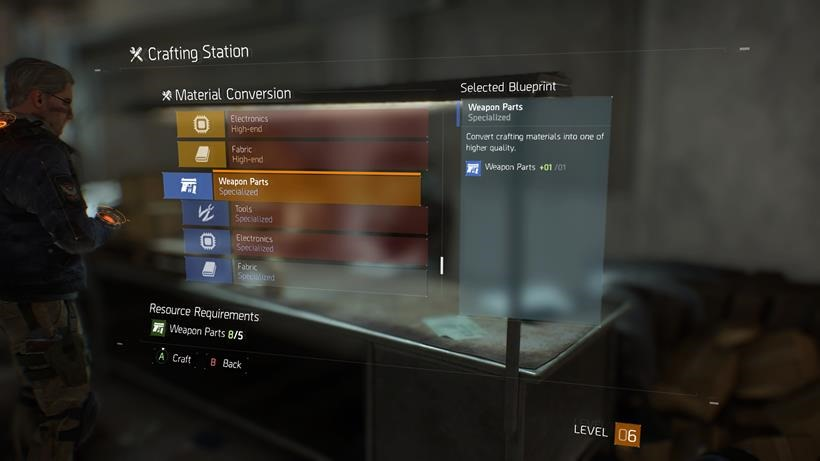 The Division Crafting (3)