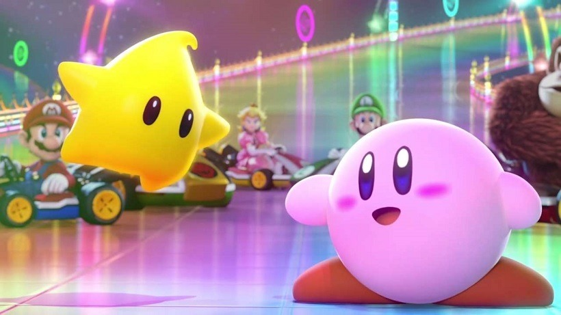 Kirby is a wrecking ball in Planet Robobot