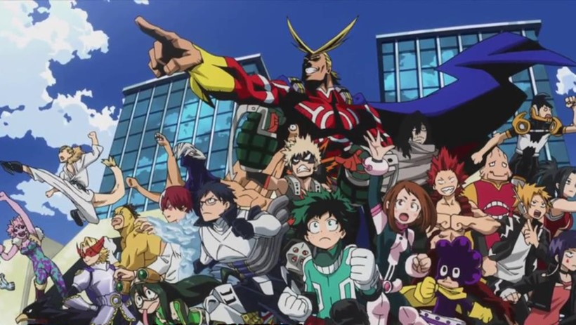 My Hero Academia (4)