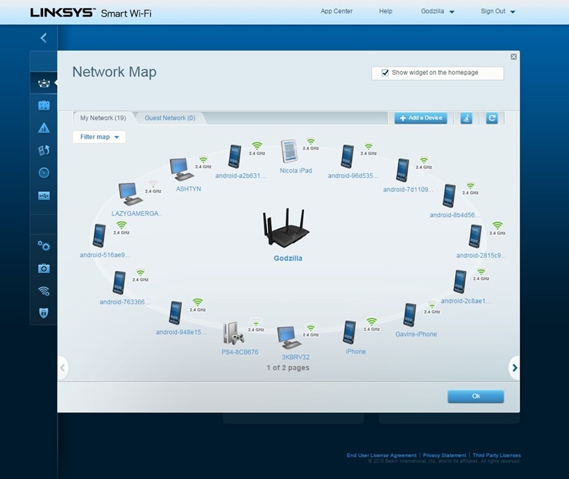 Linksys Max-Stream AC2600 MU-MIMO Router Review 7