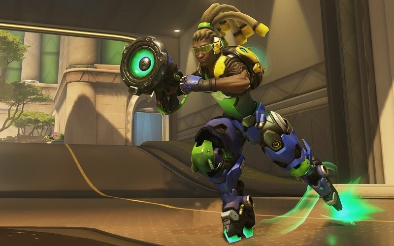 A DJ Hero turntable sure makes playing Overwatch's Lúcio a lot more entertaining herader